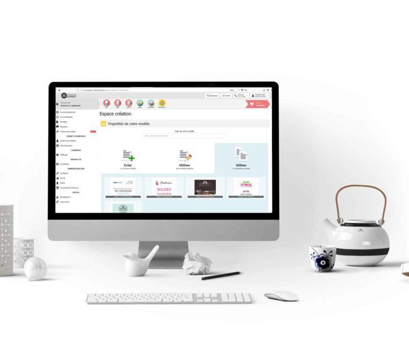 Plateforme multicanal Expertiz Market - Outils marketing prêts à l'emploi
